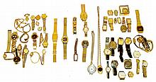 Wrist watches- approximately 50 men's and women's watches, mechanical and quartz,
