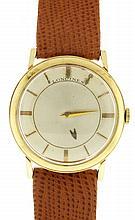 Longines Watch Co., Switzerland, man's