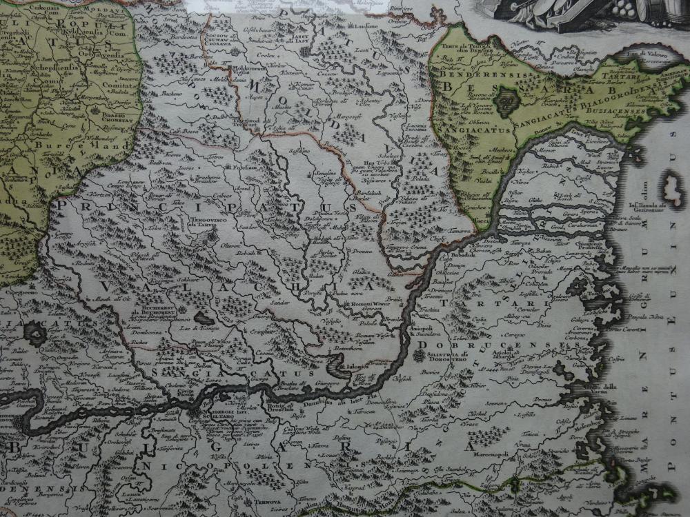 Seutter - Transylvaniae, Moldaviae