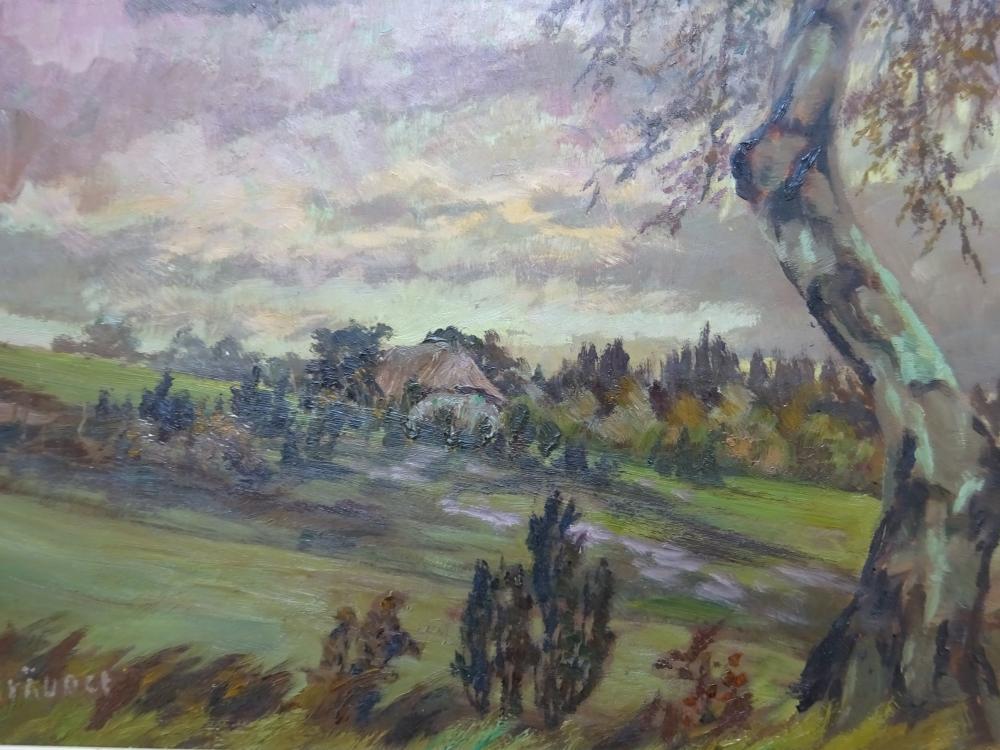 Bräuner - Landschaft mit Baum