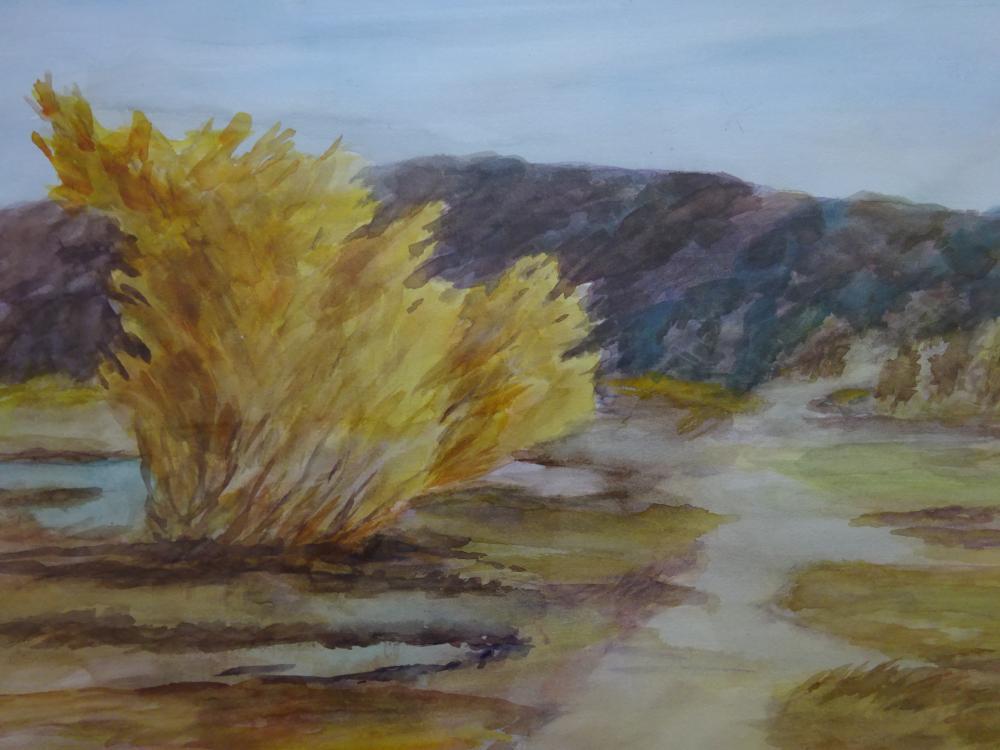 Bräuner - Landschaft auf Sylt