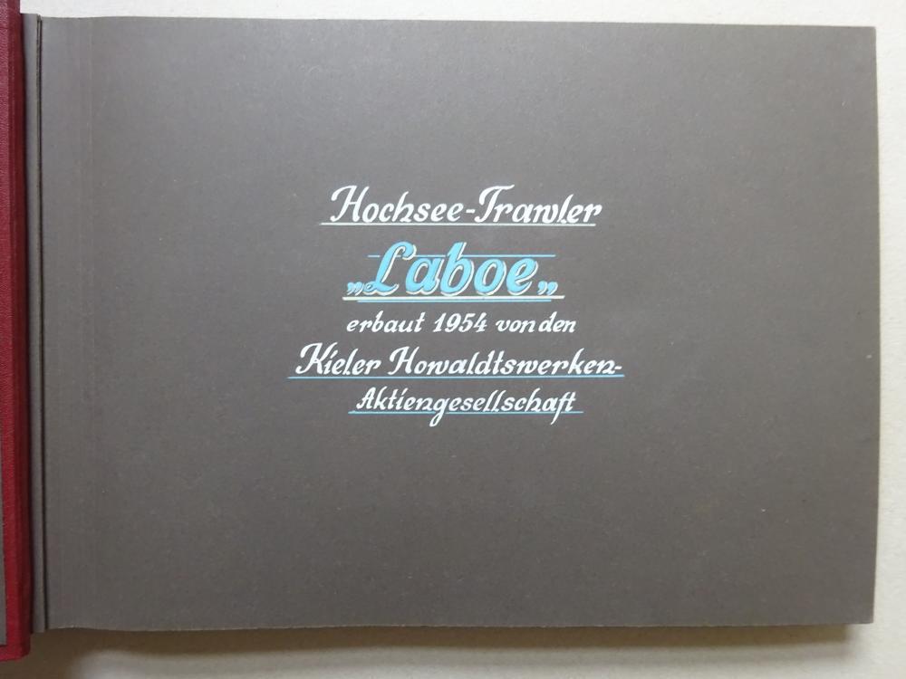 Album Hochsee-Trawler Laboe + Beigabe