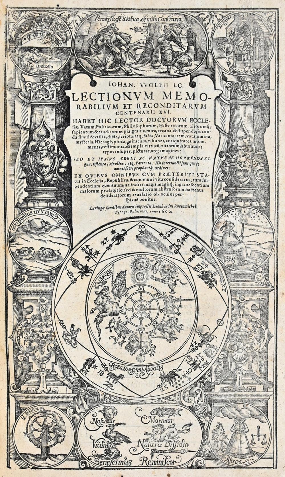 Wolf - Lectionum memorabilium 2 Bde.