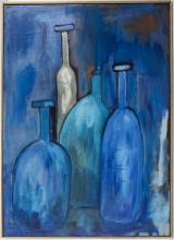 Lucien Sotto, 'Stillleben mit Flaschen' / 'A stillife with bottles', Belgien, 20. Jh.
