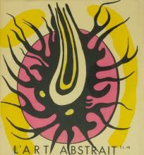Fernand Léger (1881-1955), Titelblatt 'L'art abstrait', 1949