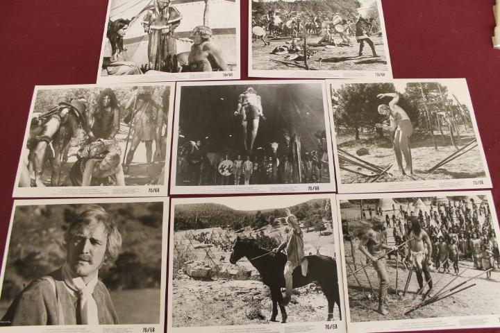 8 Movie Still Photos - A Man Called Horse - 8x10 - Richard Harris