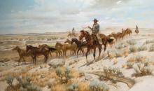 "Swanson, Jack (b. 1927) ""Rough String Rider"""