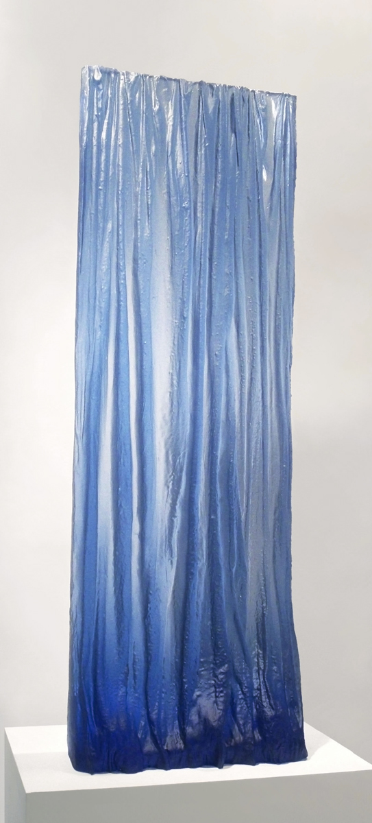 Deep Blue Rain-Curtain
