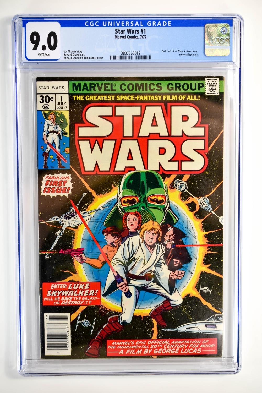 Star Wars #1 CGC 9.0