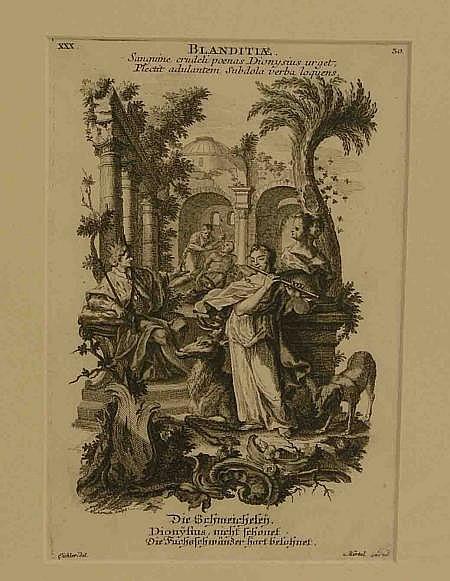 Wachsmuth Jeremias (1711 - Augsburg - 1771):