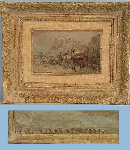 Girardet, Edouard-Henri (Neuchâtel 1819 1880