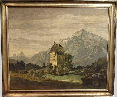 Bayerlein, Fritz (Bamberg 1872 - 1955). Besuch der