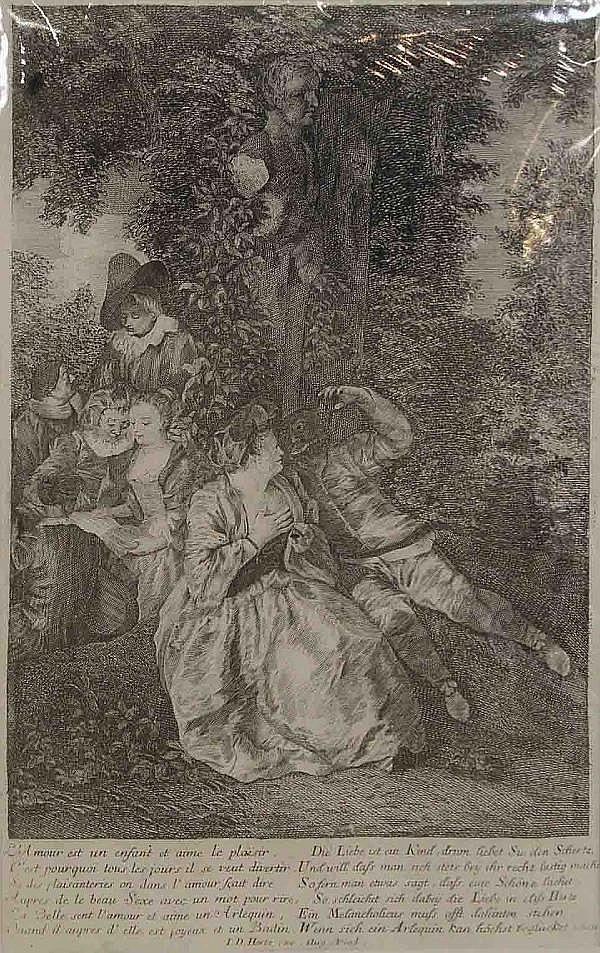 Herz (Hertz), Joh. Daniel (1693 - Augsburg -