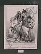 Cham (Amadee de Noe) 1819 - 1879: ''Karikatur aus,  Cham, Click for value