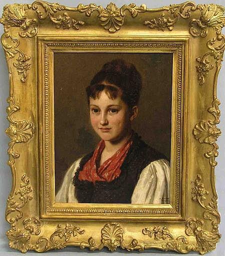 Conrad, Albert (Torgau 1837 - 1887 Berlin). Genre-