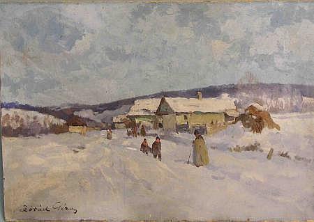 Zórád, Géza (1880 - 1960, Studium in Budapest und
