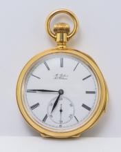 Patek Philippe Minute Repeater 18K YG Pocket Watch.