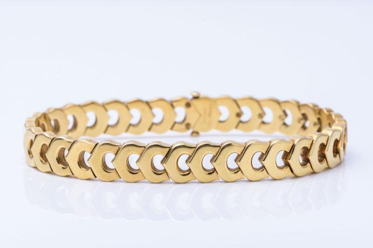 Cartier 18K YG Bracelet.