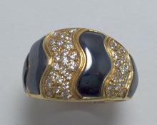 Gorgeous Diamond pattern ring