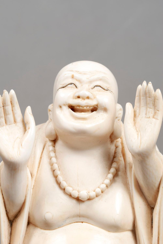 TUSK CARVED BUDDHA
