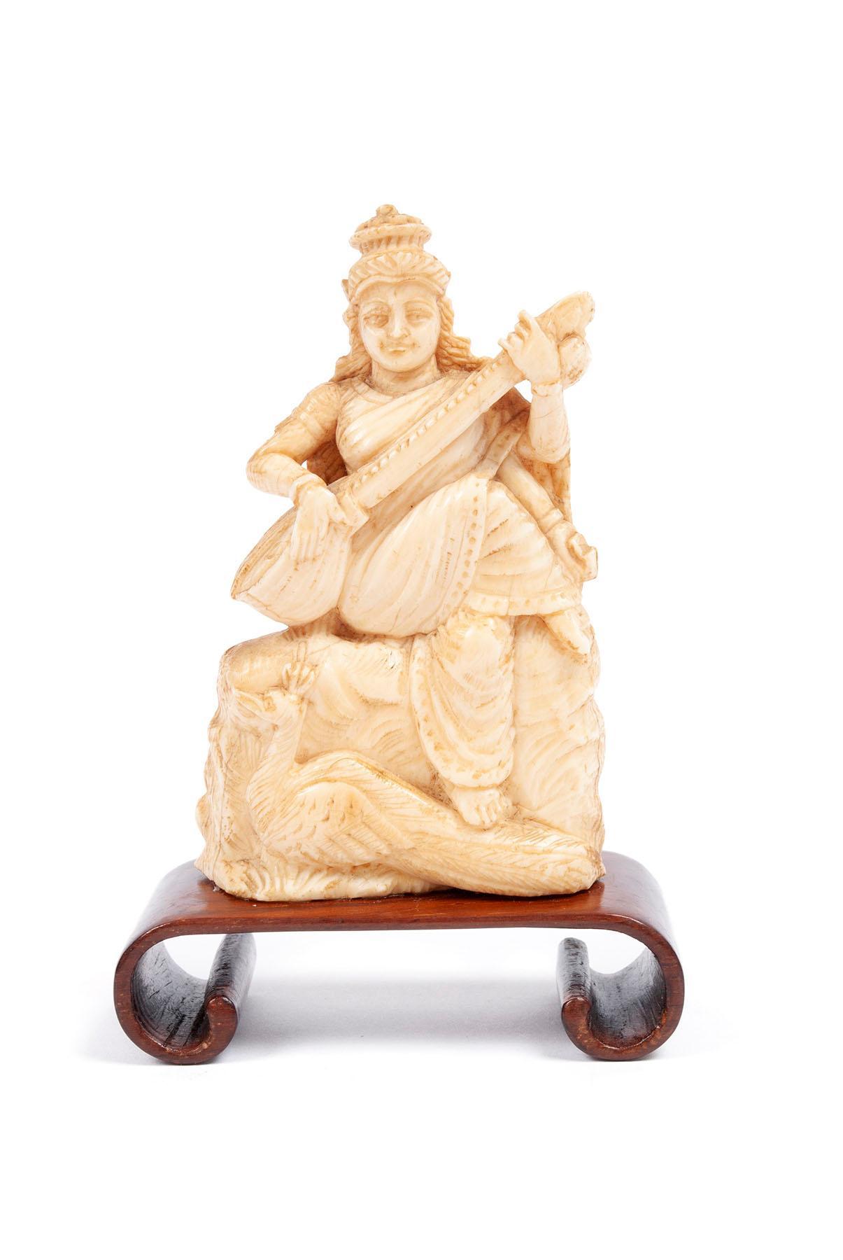 HINDU GODDESS CARVING