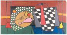 STILL LIFE BY LENNIE KESL (AMERICAN, 1926-2012).