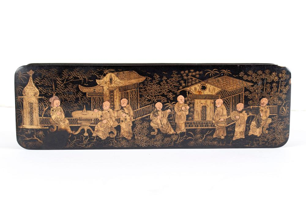 COLLECTION OF JAPANESE MEIJI LACQUERWARE