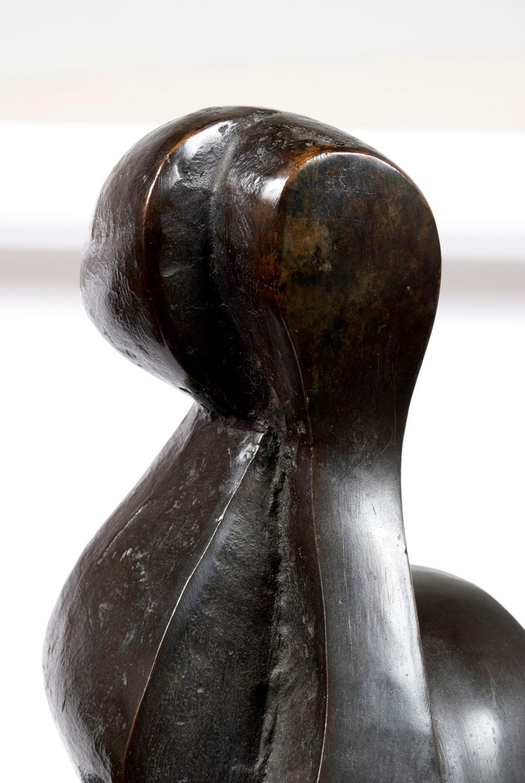 SOREL ETROG (ROMANIA-CANADA, 1933-2014) FIGURAL ABSTRACT