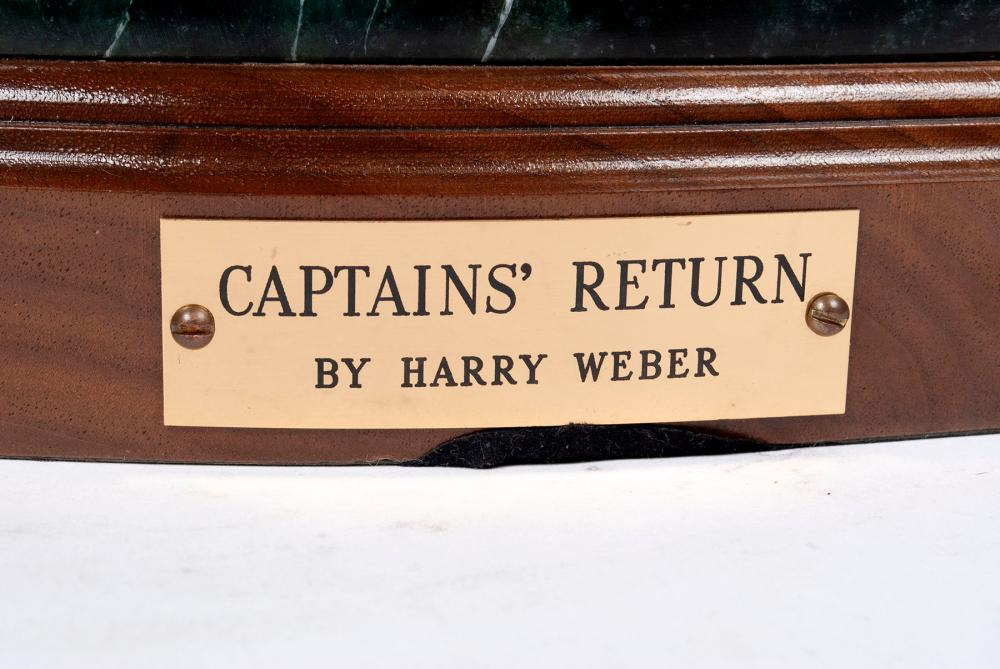 THE CAPTAINS RETURN BY HARRY WEBER (AMERICAN, 20TH CENTURY)