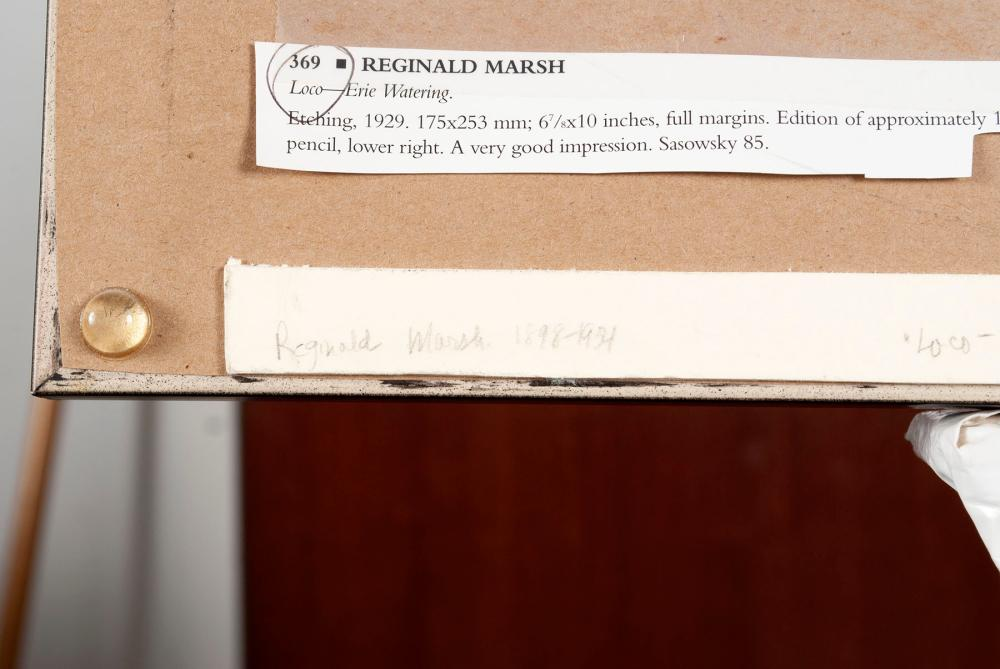 REGINALD MARSH (AMERICAN, 1898-1954)