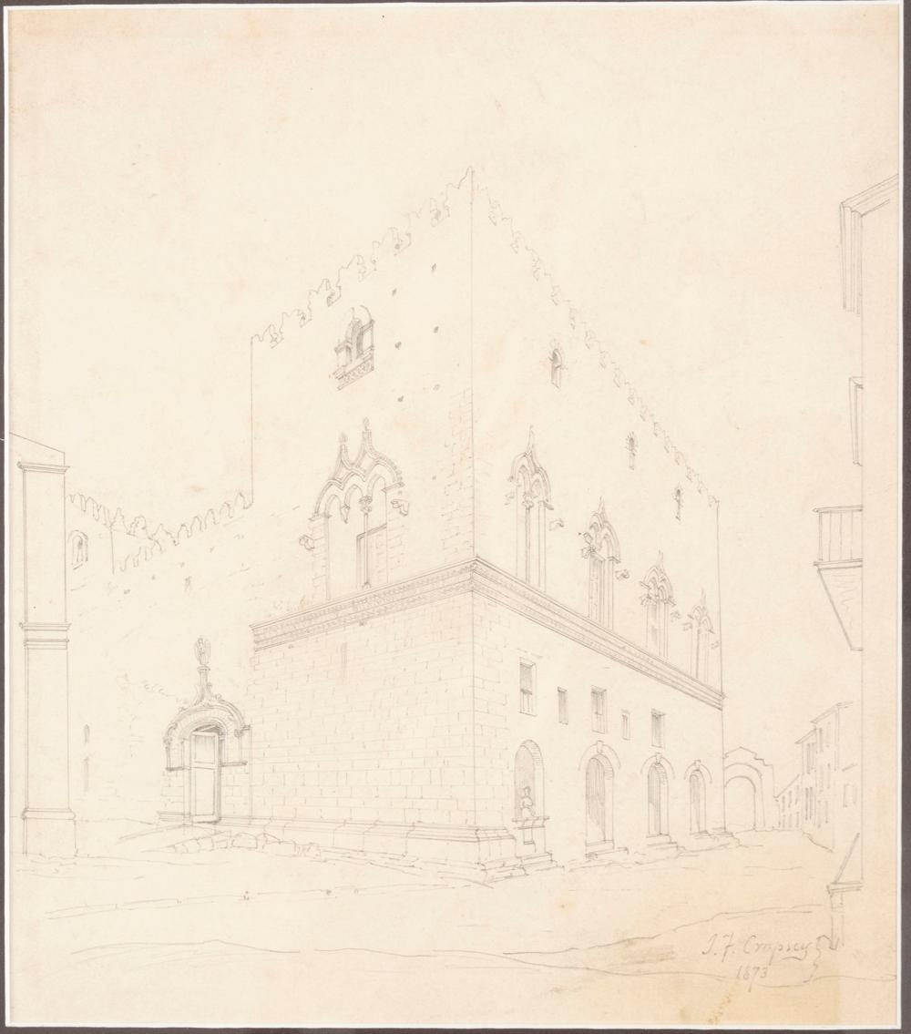 JASPER FRANCIS CROPSEY, (AMERICAN, 1823-1900)