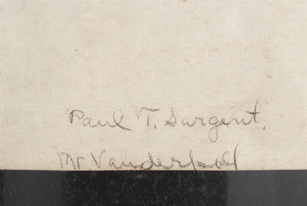 PAUL TURNER SARGENT (AMERICAN, 1880-1946) FIGURE DRAWING