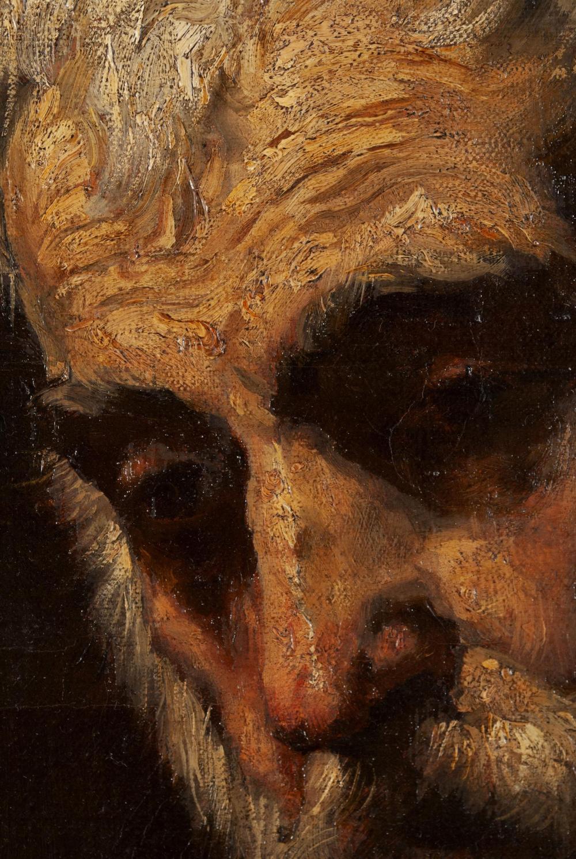 CONTINENTAL/SPANISH SCHOOL OIL PORTRAIT AFTER JUSEPE DE RIBERA (SPANISH, 1591-1652)