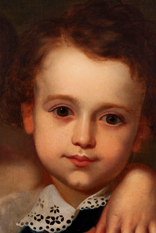 PORTRAIT PAINTING (AMERICAN SCHOOL, 19TH CENTURY)