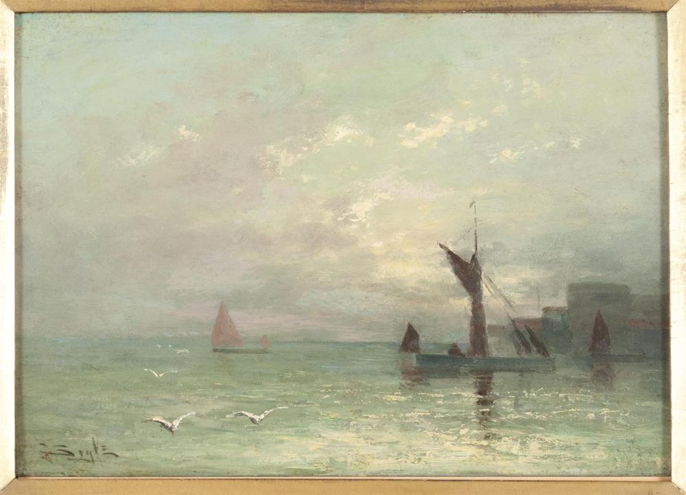 COASTAL SEASCAPE ATTRIBUTED TO GEORGE BOYLE (UNITED KINGDOM, 1826-1899)