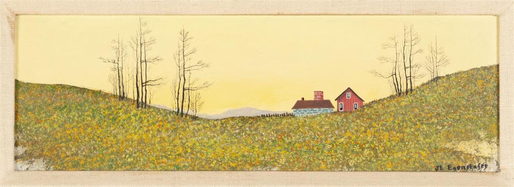 JOHN EGENSTAFER (AMERICAN, 1943-)