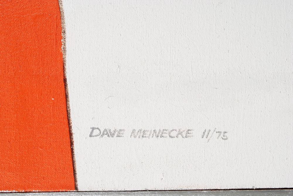 DAVE MEINECKE (AMERICAN, 20TH CENTURY)