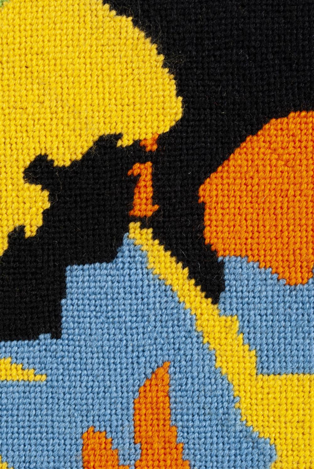 AMERICAN PSYCHEDELIC NEEDLEPOINT