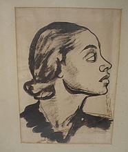 Alonzo Hauser Pen & Ink