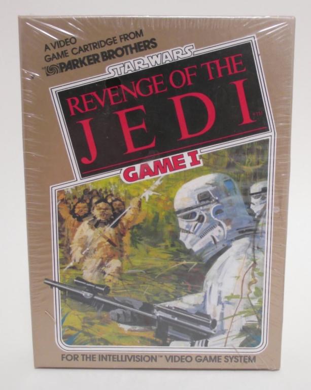 Star Wars Revenge of the Jedi Salesman Sample Box