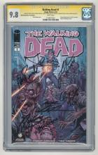 SIGNED CGC 9.8 Walking Dead #1 2013