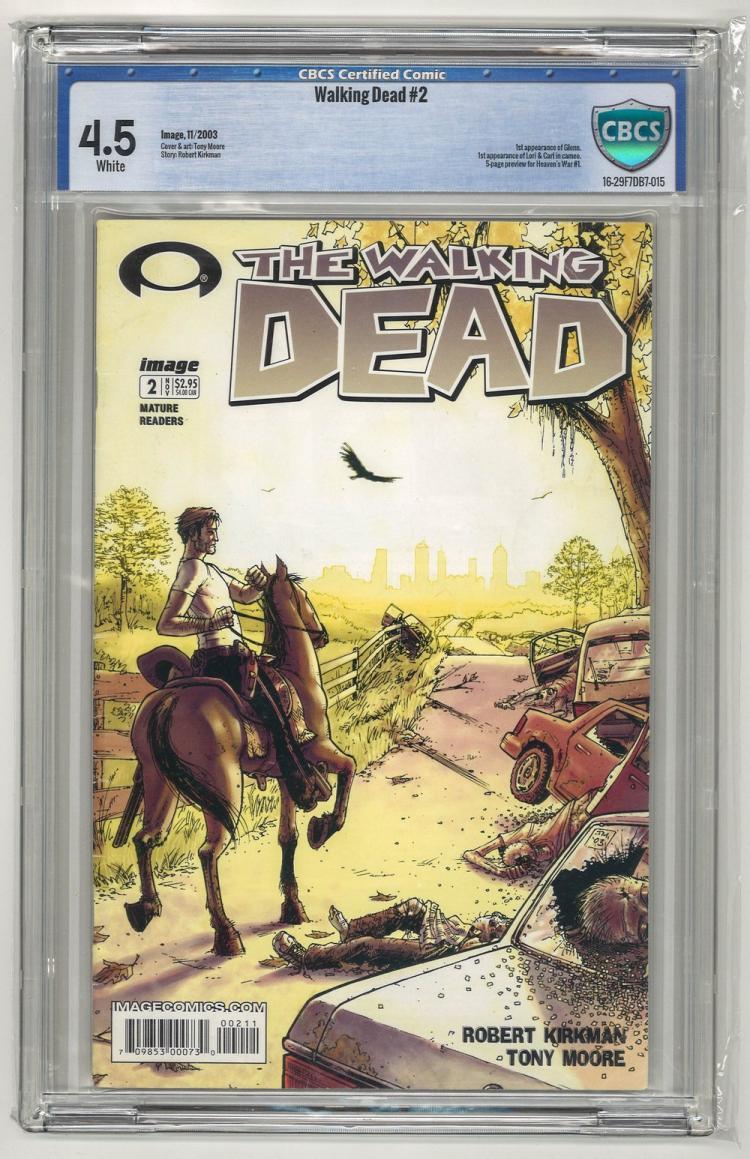 CBCS 4.5 Walking Dead #2 2003