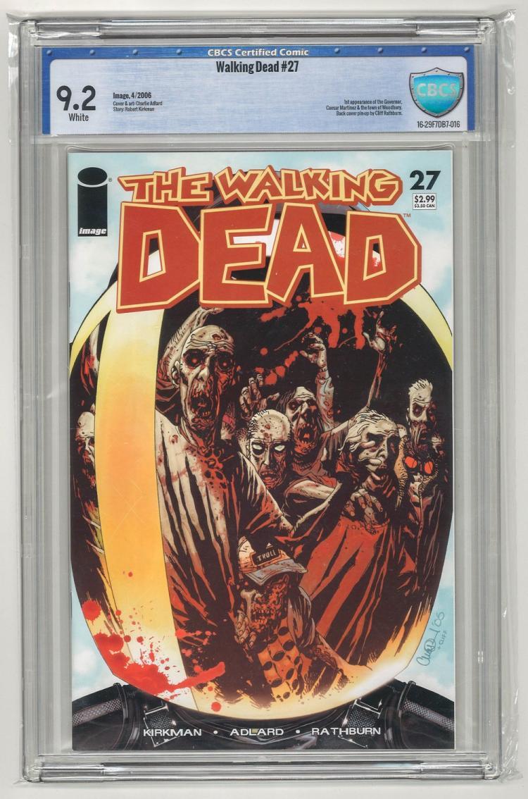 CBCS 9.2 Walking Dead #27 2006