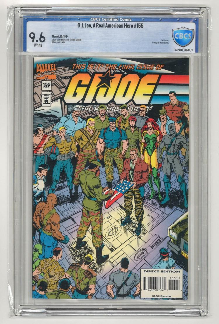CBCS 9.6 G.I. Joe, A Real American Hero #155 1994