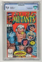 CBCS 9.6 New Mutants #87 1990