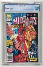 CBCS 9.6 New Mutants #98 1991