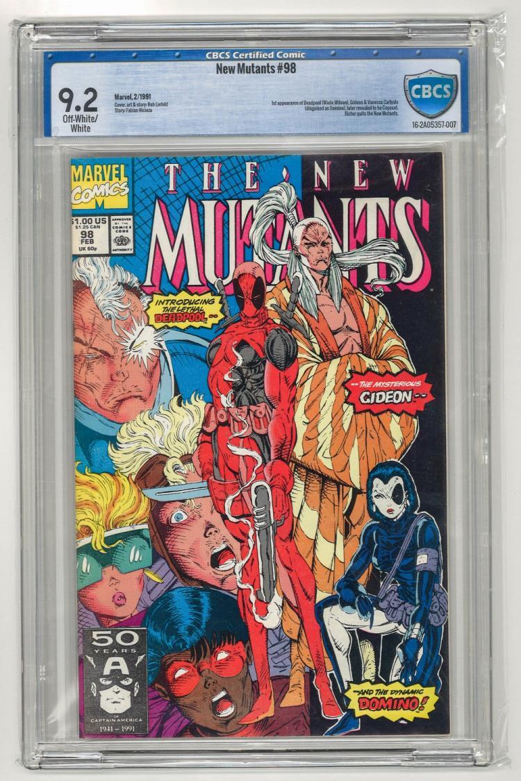 CBCS 9.2 New Mutants #98 1991