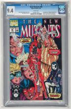 CBCS 9.4 New Mutants #98 1991