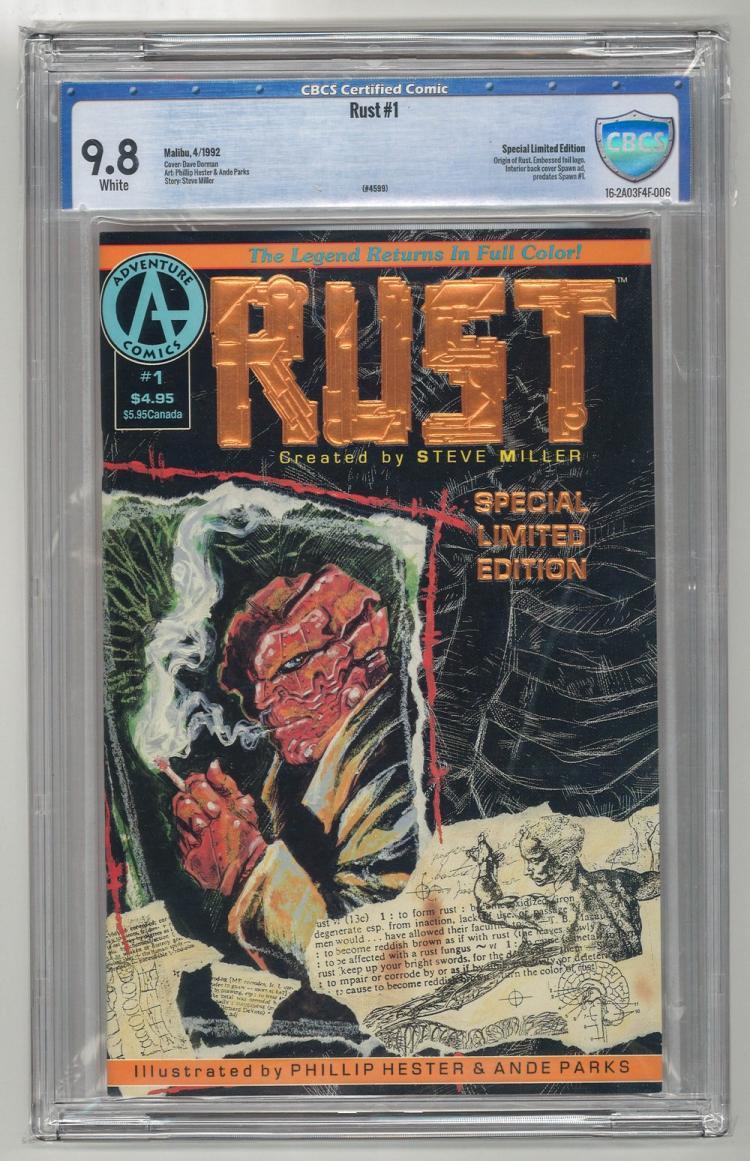 CBCS 9.8 Rust #1 1992