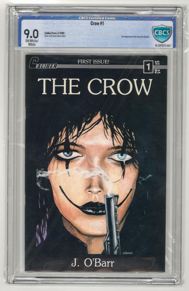 CBCS 9.0 Crow #1 1989